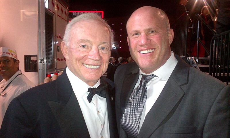 Brian Medavoy and Jerry Jones