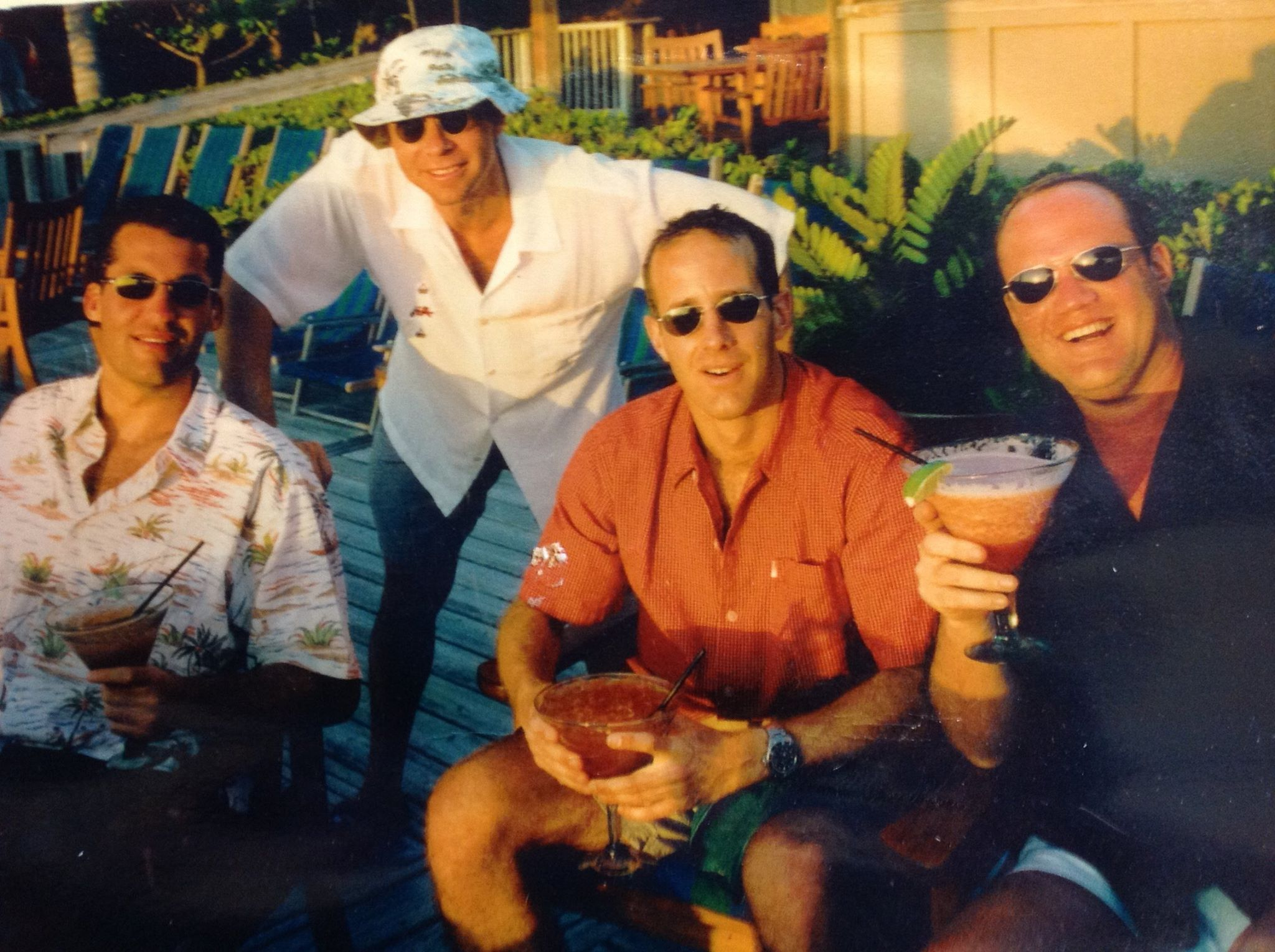 Scott Stuber, Richard Lovett, Jason Sloane and Brian Medavoy