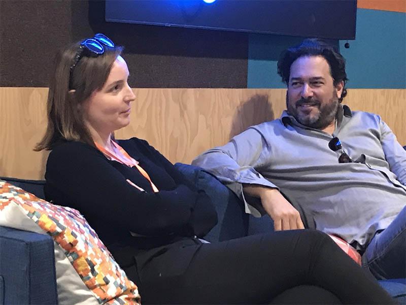 Berta Treitl and Michael Davis