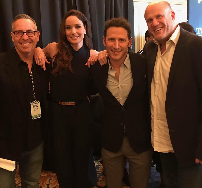 Erwin More, Sarah Wayne Callies, Mark Feuerstein & Brian Medavoy