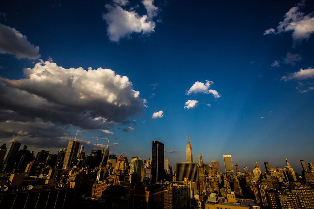 New York Skyline Photo by Erwin More