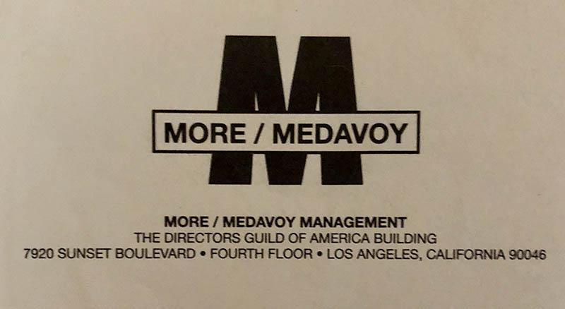 MoreMedavoy 1989 Logo