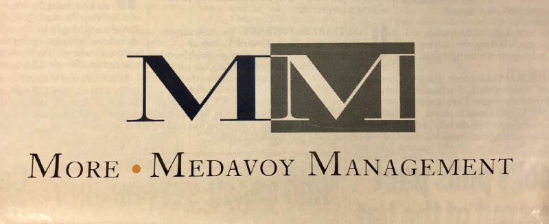 MoreMedavoy 1990 Logo