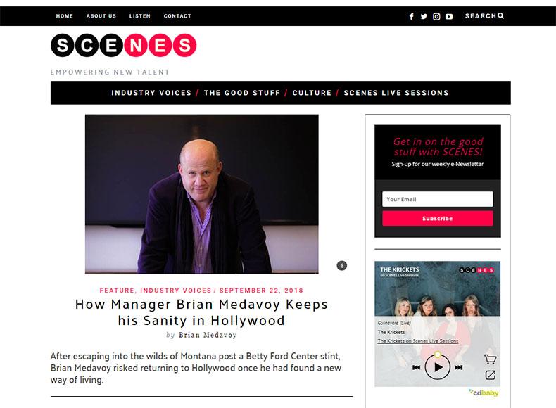 Brian Medavoy Scenes Media
